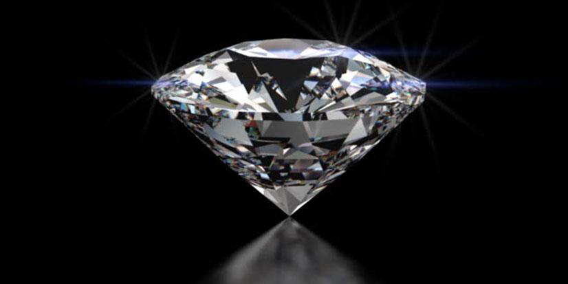 Diamant einfassen